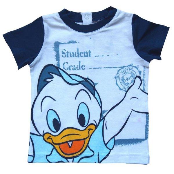 Disney Donald Ducks Neffen T-Shirt, weiß-dunkelblau, Gr. 80/86 (18 Mon)
