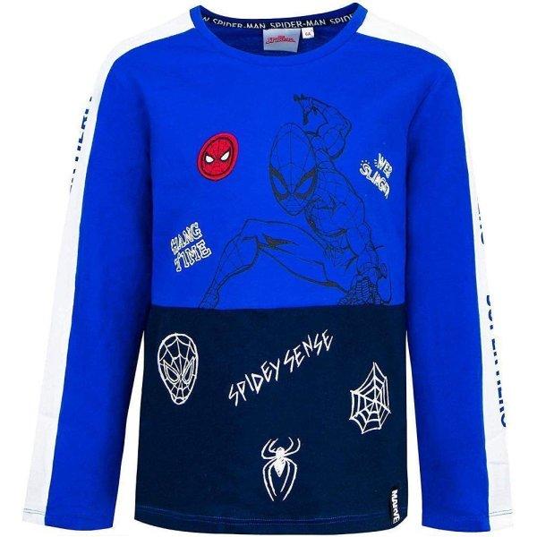 Marvel Spider-Man Langarmshirt - blau