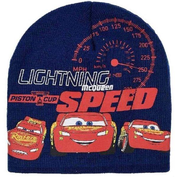 Disney Pixar Cars Lightning McQueen Mütze Beanie - blau