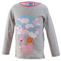 Peppa Pig Wutz Pyjama - grau/rosa