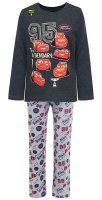 Disney Cars Pyjama - Schlafanzug - Glow in the Dark - Grau