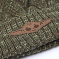 Star Wars The Mandalorian - Baby Yoda Strickmütze - Einheitsgröße - grün