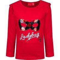 Miraculous Ladybug Langarmshirt mit Pailletten - rot