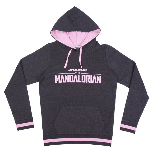 The Mandalorian - Baby Yoda The Child - Hoodie - Kapuzenpullover - grau