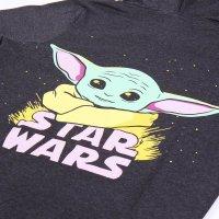 Star Wars The Mandalorian - Baby Yoda The Child - Hoodie - Kapuzenpullover - grau