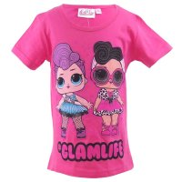 LOL Surprise Mädchen T-Shirt -  rosa