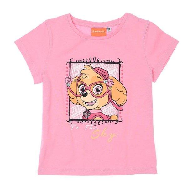 PAW Patrol Mädchen T-Shirt - rosa