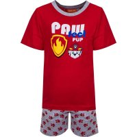 PAW Patrol Shorty - Pyjama-Set - rot