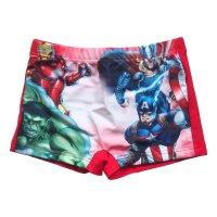 Marvel Avengers Sommer-Badeset 4 teilig - weiß