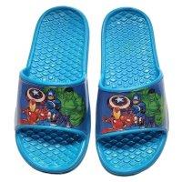 Marvel Avengers Badeschuhe Badesandale - blau