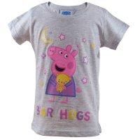 Peppa Pig Wutz Pyjama - Shorty - 2 teil. Set - grau