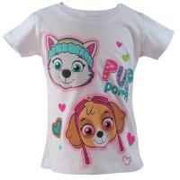 PAW Patrol Skye Mädchen Shorty - Pyjama -  weiß/pink