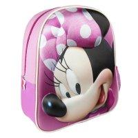 minnie mouse 3d kinder-rucksack vorderseite