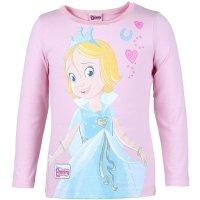 Prinzessin Emmy Langarmshirt Shirt mit Glitzer, rosa