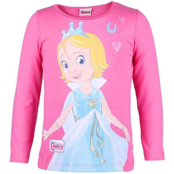 Prinzessin Emmy Langarmshirt Shirt mit Glitzer, pink