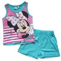 Disney Minnie Mouse Mädchen Sommer Set hellblau Gr....