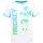 Disney Mickey Mouse Jungen T-Shirt,weiß-türkis, Gr. 116