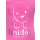 UNIDOG Unicorn T-Shirt Mädchen Einhorn - Hund, pink