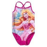Disney Princess Dornröschen Badeanzug für Mädchen - weinrot