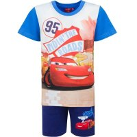 Disney Cars Shorty Pyjama, blau