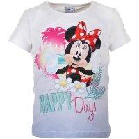 Disney Mädchen Minnie Mouse T-Shirt mit Farbverlauf,...