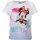 Disney Mädchen Minnie Mouse T-Shirt mit Farbverlauf, hellblau