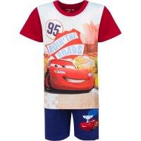 Disney Cars Lightning McQueen Shorty Pyjama, rot