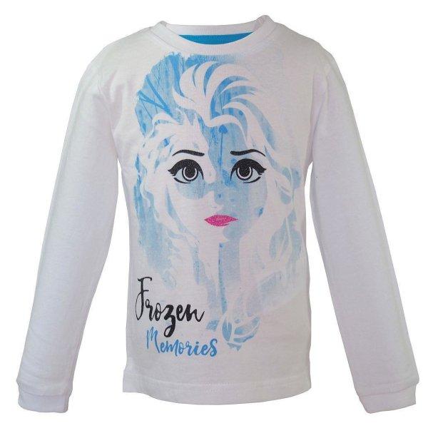 Disney Frozen 2 Eiskönigin Elsa Langarmshirt, weiß