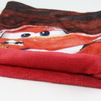 disney cars schlauchschal rot mit fleece