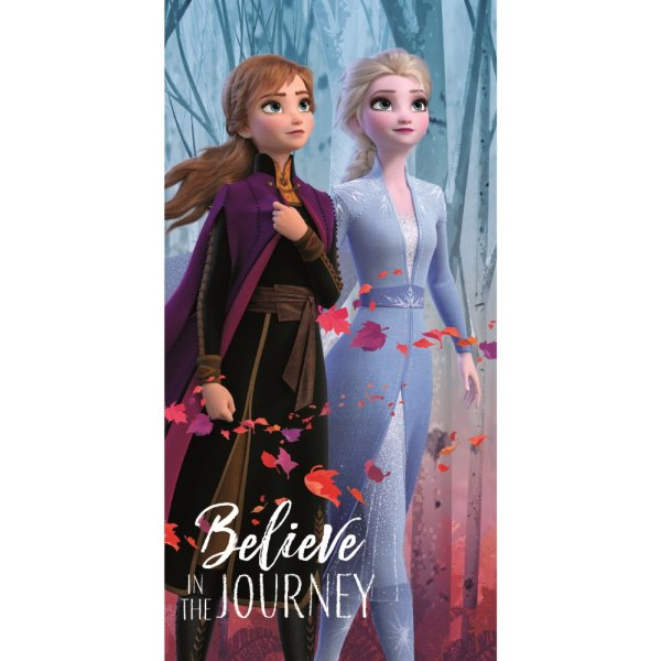 Disney Eiskönigin 2 Frozen Anna Elsa Badetuch Strandtuch 70 x140 cm