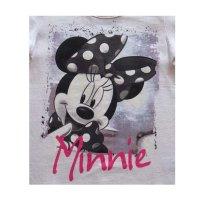 Disney Minnie Mouse T-Shirt für Mädchen, weiß