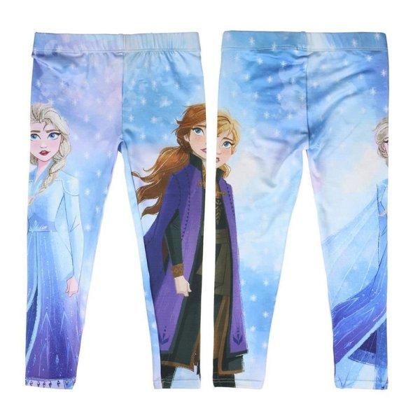 Disney Frozen 2  Eiskönigin Anna Elsa Leggings, hellblau