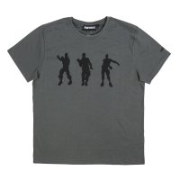 Fortnite Gamer Herren T-Shirt - Dance, grau