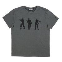 Fortnite Gamer Herren T-Shirt - Dance, grau