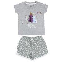 Disney Eiskönigin 2 Frozen Elsa Anna Pyjama-Set, grau