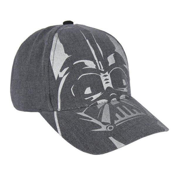 Star Wars Darth Vader Kinderkappe Basecap Cap, dunkelgrau, KU 53 cm