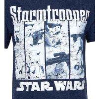 Star Wars Stormtrooper Jungen T-Shirt, blau