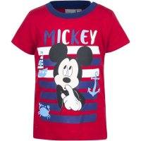 Disney Mickey Mouse Jungen T-Shirt, rot