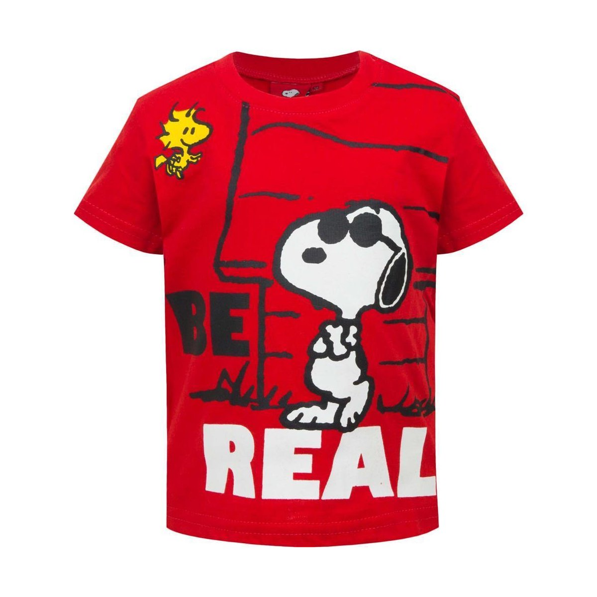 Snoopy PEANUTS Baby T-Shirt, rot
