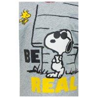 Snoopy PEANUTS Baby T-Shirt, grau