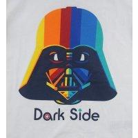 Star Wars DARTH VADER DARK SIDE Jungen T-Shirt, weiß